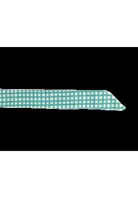 Dámský motýlek tyrkysová kostka